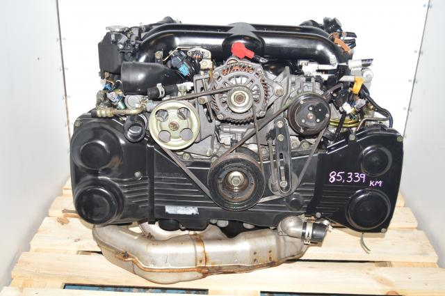 EJ20X Engine JDM 2004-2005 Twin Scroll VF38 Turbocharged 2.0L Legacy Swap