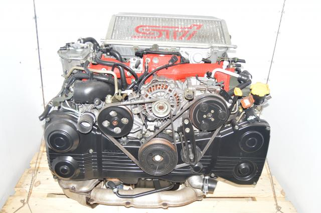 Used JDM Subaru 2002-2007 Version 7 STi DOHC AVCS Turbocharged 2.0L Engine Package for Sale