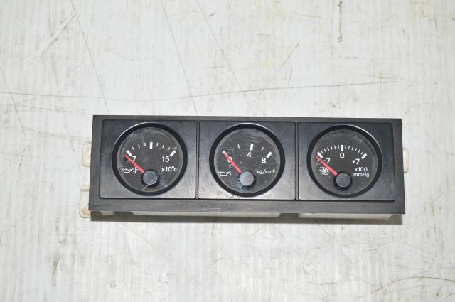 Nissan Pulsar GTiR OEM Triple Gauge Pod Oil Temp, Pressure, Boost for Nissan Applications