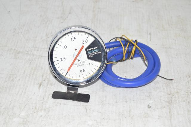 Pivot Race & Rally Motorsports Metric 2.0 Bar Boost Gauge