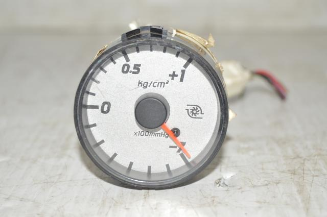 Nissan Skyline R34 GTT Series II Metric White Electronic Boost Gauge 1 Bar