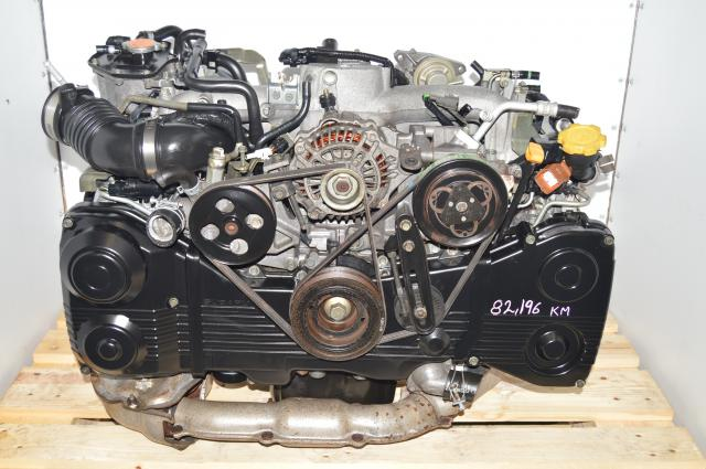 JDM Subaru WRX 202-2005 DOHC AVCS 2.0L TD04 Turbocharged Engine For Sale