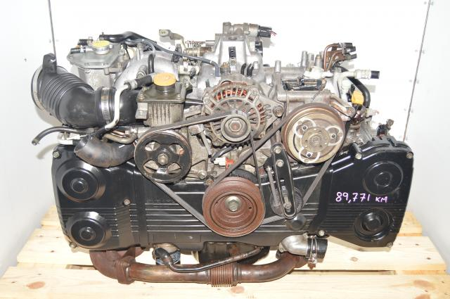 JDM 2002-2005 EJ205 DOHC TD04 Turbocharged Non-AVCS Engine