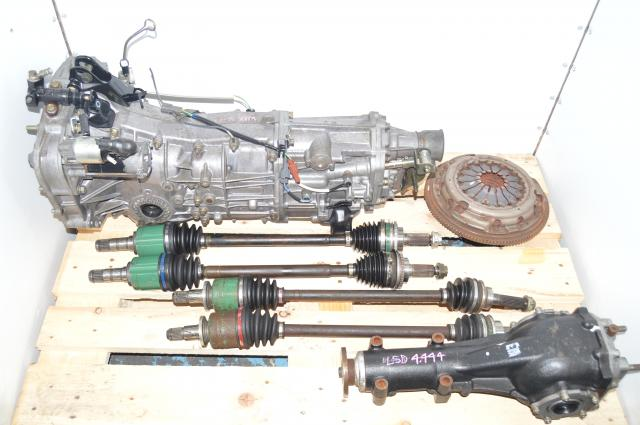 JDM 5 Speed Manual 2006-2007 WRX Push-Type Transmission Replacement 5MT with Rear 4.444 LSD