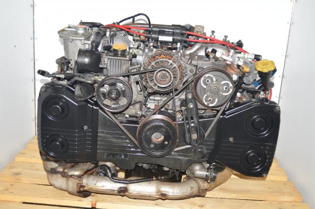 JDM WRX STi Version 3-4 VF24 Turbocharged EJ207 DOHC Motor For Sale