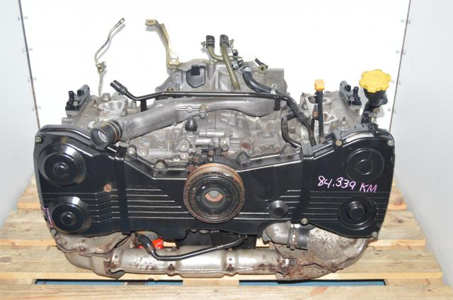 JDM Subaru EJ205 2.0L DOHC Long Block Quad Cam Engine Swap for WRX 2002-2005