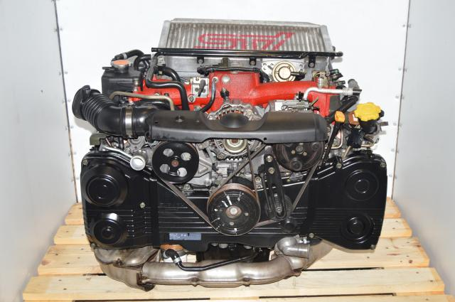 Used Subaru EJ207 Version 7 IHI Single-Scroll EJ207 STi Turbocharged 2.0L Engine Swap for Sale