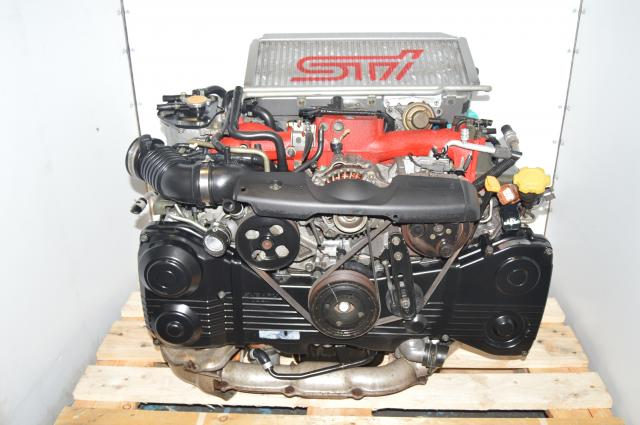 Version 7 Forged Internals EJ207 STi 2002-2007 Turbocharged 2.0L AVCS Engine Swap with Intercooler & ECU for Sale
