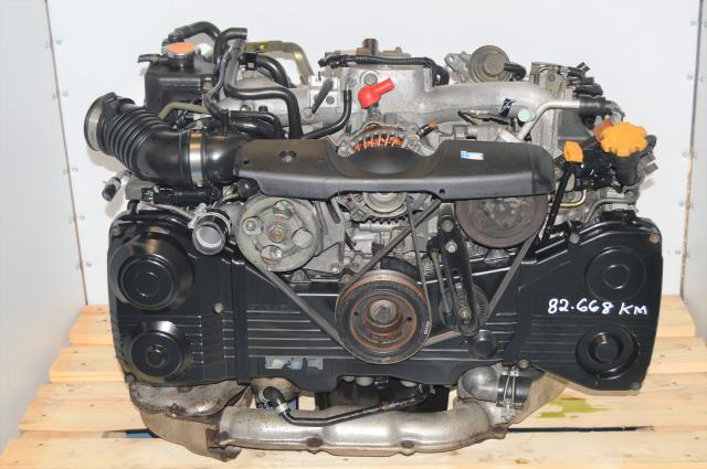 JDM Subaru EJ205 AVCS DOHC 2.0L TD04 Turbocharged WRX 2002-2005 Engine For Sale