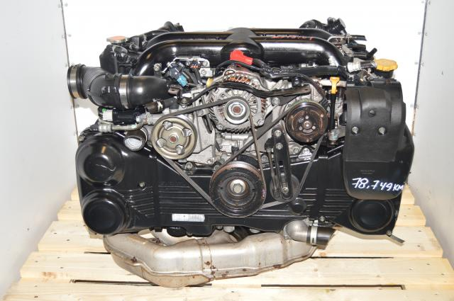 JDM EJ20Y / EJ255 Replacement WRX 2008-2014 DOHC 2.0L VF44 Turbocharged Replacement Engine For Sale