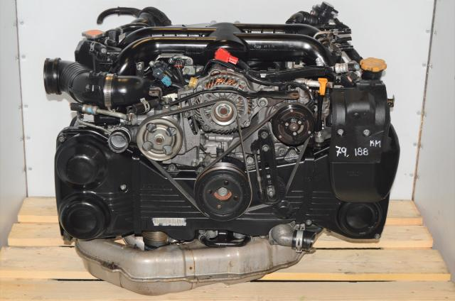 JDM WRX, Legacy, Forester EJ20X VF45 Turbocharged 2008-2014 EJ255 2.0L Replacement DOHC Engine For Sale