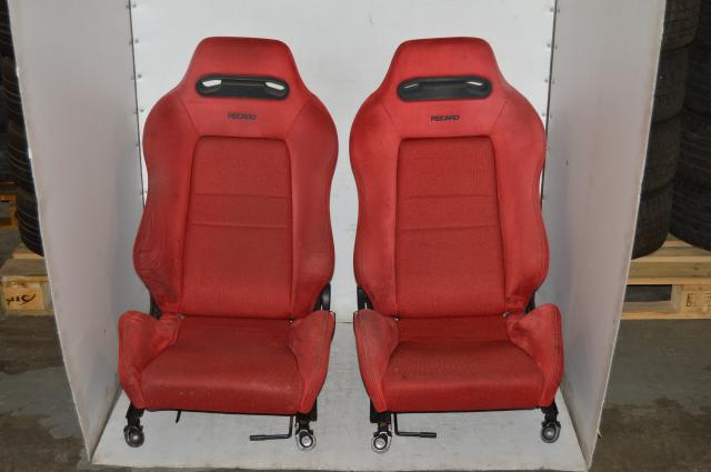 1994-2001 Honda Integra DC2 SRD Red JDM Recaro Seats