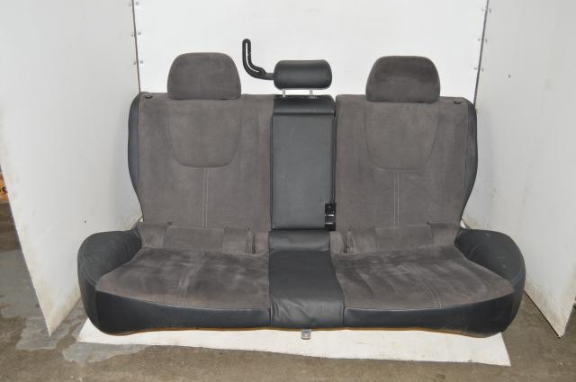 Subaru WRX STI Version 10 Grey Suede Rear Folding Seats GRB 2008-2014
