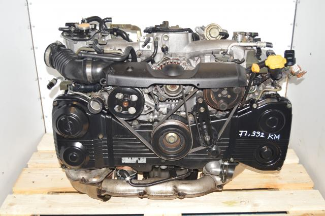 JDM Subaru EJ205 2002-2005 2.0L DOHC TD04 Turbo AVCS Engine Swap