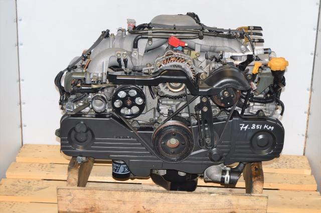 Used Subaru EJ253 SOHC 2.5L NA Engine Replacement for Impreza / Forester 2004-2005 with EGR