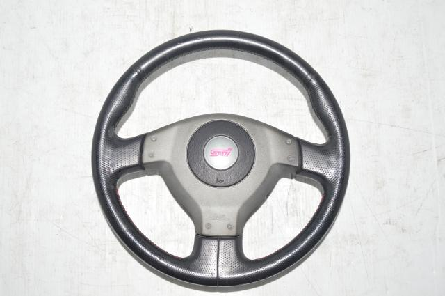 Version 8 WRX STI Silver Steering Wheel for 2004-2005 WRX & STI