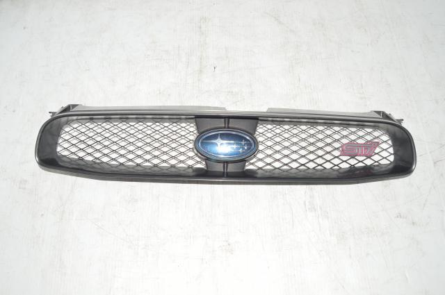 2004-2005 Subaru WRX STI Grill w/Light Pink STI Emblem for sale