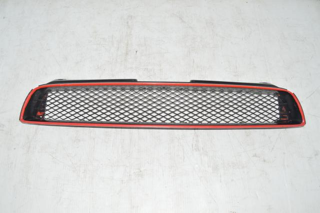 Subaru Version 7 Front Mesh Grill w/Red Pinstripe for 2002-2003 Impreza WRX & STI