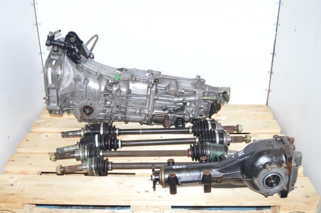 Subaru WRX 2002-2005 Replacement 5MT JDM TY757VBAAB 5-Speed Transmission with 4.11 LSD