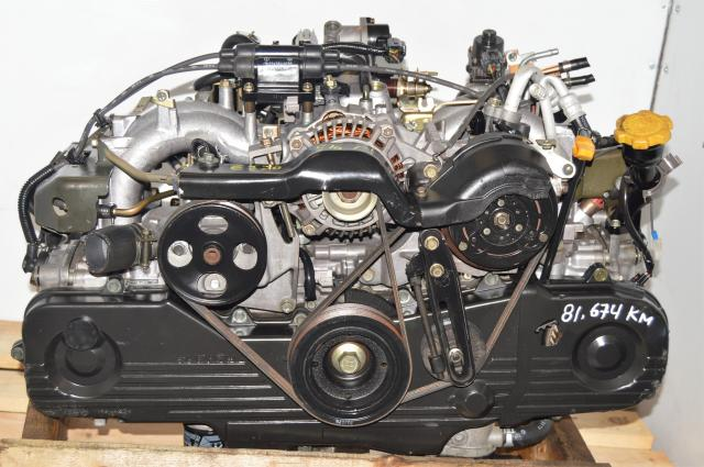 JDM Subaru Legacy SOHC NA 2000-2003 2.0L Engine Replacement for 2.5L EJ251 Motor