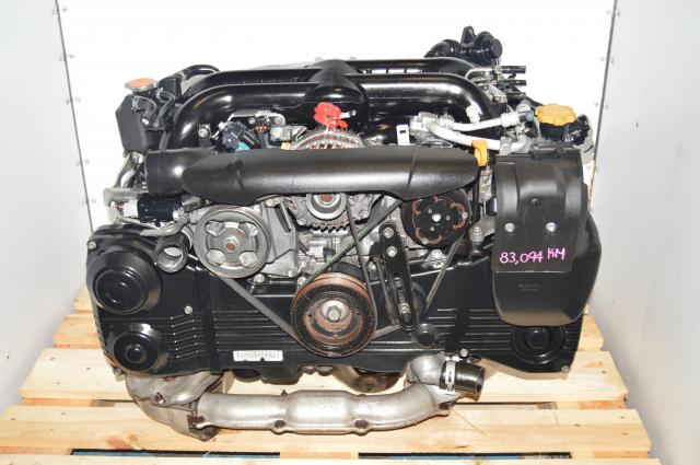 Used Subaru WRX 2006+ Engine Swap EJ205 2.0L Replacement DOHC Motor with TGV for Sale EJ205HRJME-0FC