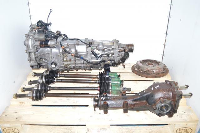 2002-2005 WRX Subaru JDM 5-Speed Replacement Transmission with Axles & Rear 4.444 Differential