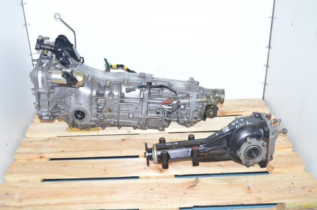 JDM Subaru Legacy / WRX 2008+ Push-Type 5-Speed Manual Transmission with 4.444 LSD Rear Differential