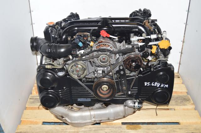 JDM Twin-Scroll EJ20X Turbocharged Legacy 2004-2005 VF38 DOHC Engine Swap for Sale