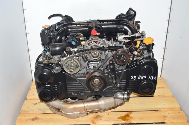 VF38 Turbocharged Twin Scroll Legacy 2004-2005 EJ20X Engine DOHC Swap for Sale