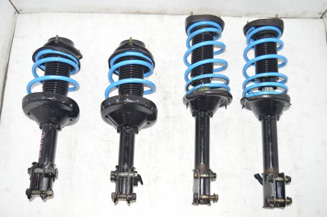 Subaru Impreza WRX OEM Version 8 Suspensions with Blue Prova Springs 2002-2007