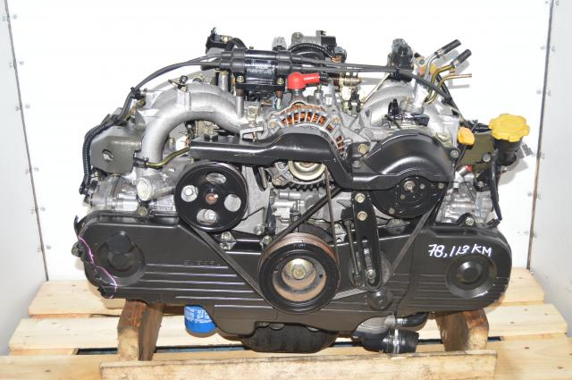 JDM Subaru Forester SOHC 1999-2002 NA EJ201 2.0L Replacement Long Block Motor for USDM EJ251 2.5L