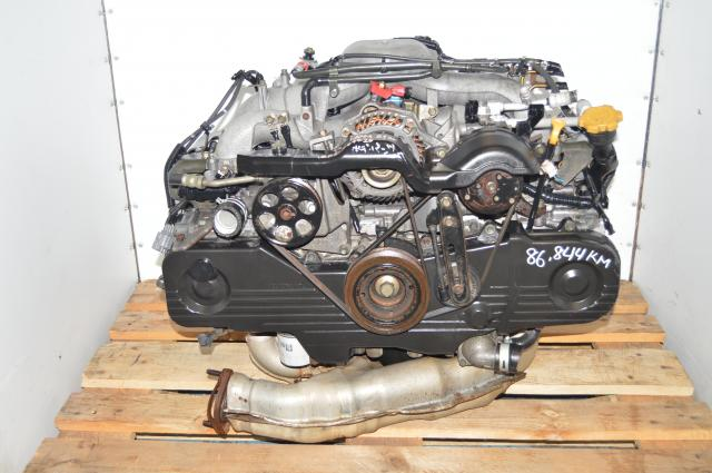 Used Subaru Impreza JDM 2.0L Replacement EJ203 SOHC NA Engine for USDM EJ253 2.5L Motor