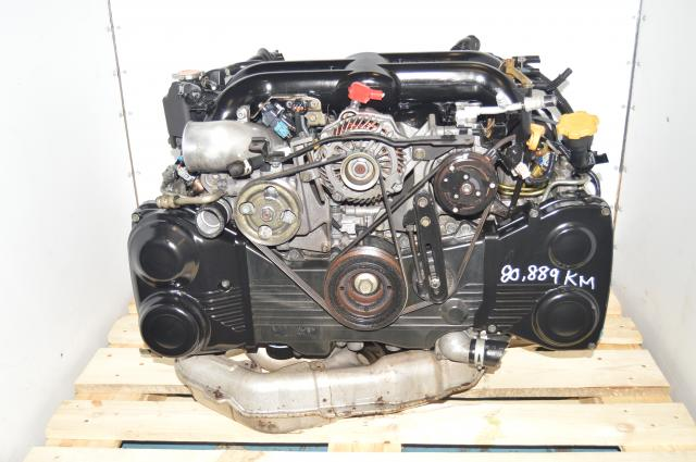 Used Subaru Twin-Scroll EJ20X VF38 Turbocharged 2.0L Replacement Legacy GT 2004-2005 JDM Engine for Sale