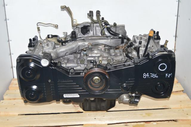 Long Block WRX 2002-2005 JDM EJ205 DOHC 2.0L Used Replacement Engine for Sale