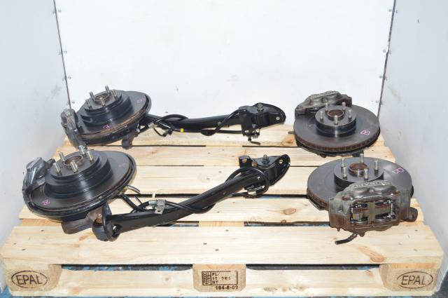JDM Subaru 5x100 Grey 4 Pot & 2 Pot Assembly for Sale