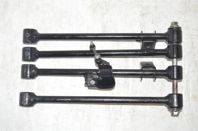 Subaru WRX Sedan GD Black Rear Control Arms / Lateral Links for 2002-2005