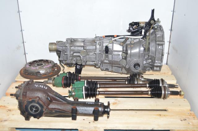 Subaru 4.44 LSD Transmission Replacement Package 5MT for 2002-2005 Pull Type Applications