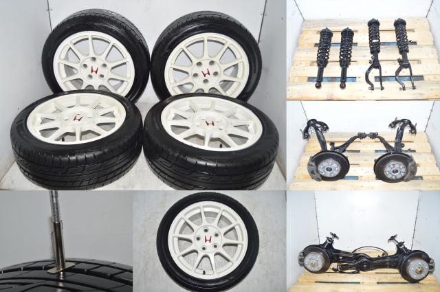 Honda Integra DC2 Type R Spec R 98+  5-Bolt 5 Lug Hub and Wheel Conversion with ITR Suspension Package For Sale