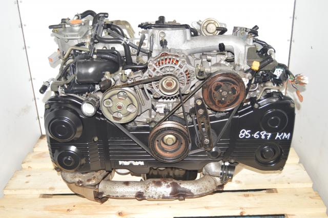 Used Subaru JDM WRX 2002-2005 EJ205 2.0L AVCS TD04 Turbocharged DOHC Motor for Sale