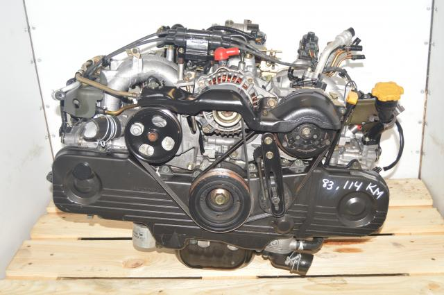 Non-Turbo, Forester 1999-2002 Subaru SOHC NA EJ201, EJ202, EJ203 Engine Long Block Replacement for 2.5L USDM Motor