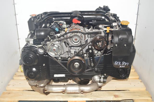 used jdm EJ255 2.5L replacement engine for 2008-2014 WRX , Motor with air pump & egr , also fits forester xt