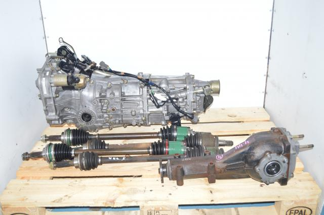 Used Subaru Impreza,  WRX 2002-2005, Forester Transmission Replacement, JDM TY755VB4BA 5MT Package with 4.444 Rear Diff For Sale