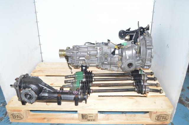 Used Subaru WRX 2008 - 2014, Legacy GT, Forester 5-Speed Push Type Replacement Manual Transmission for Sale with matching  4.11 LSD rear differential