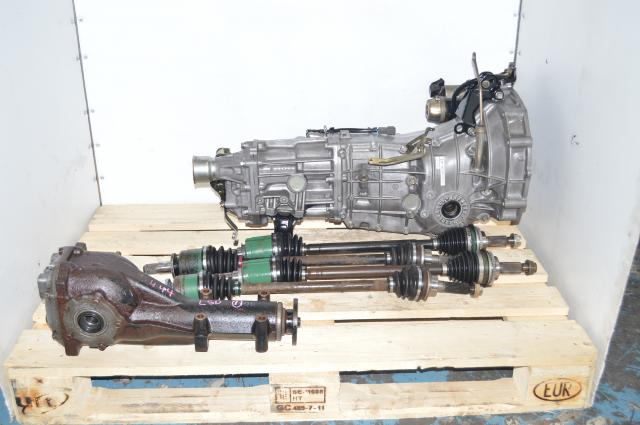 Subaru WRX 2008 - 2014 , Legacy GT, Outback  5 Speed Push Type Replacement Manual Transmission for Sale with matching  4.11 LSD  rear differential
