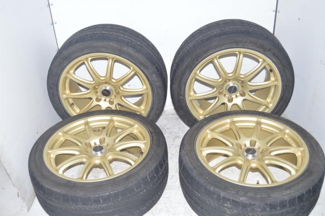 Used aftermarket prodrive mags with Hercules raptis tires.