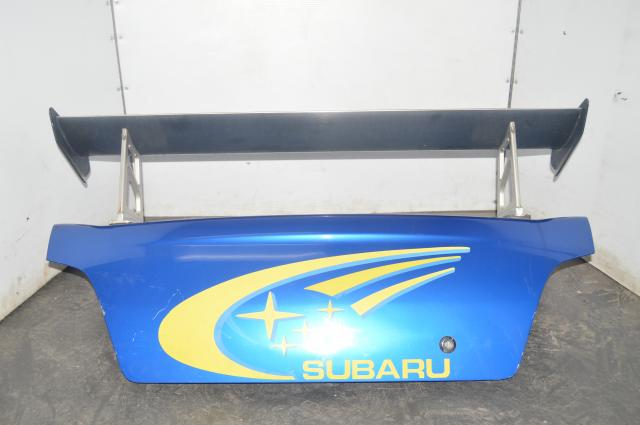 2002-2007 Subaru WRX STI WRB Trunk w/Tommy Kaira GT Spoiler and WRC Decal