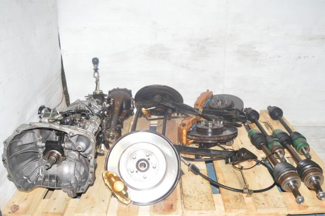 JDM Subaru STi Version 8 DCCD 2002-2007 TY856WB3KA 5x100 6-Speed Transmission Package for Sale