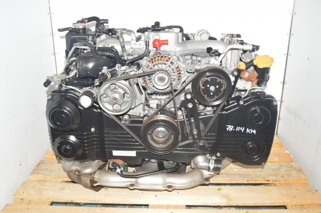 JDM WRX DOHC 2002-2005 2.0L EJ205 AVCS TD04 Turbocharged Engine Swap for Sale