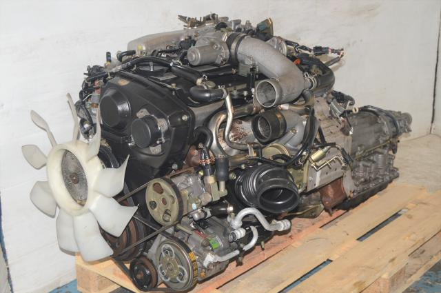 Used Nissan Skyline R33 RB25DET Engine Swap with Automatic Transmission Motor