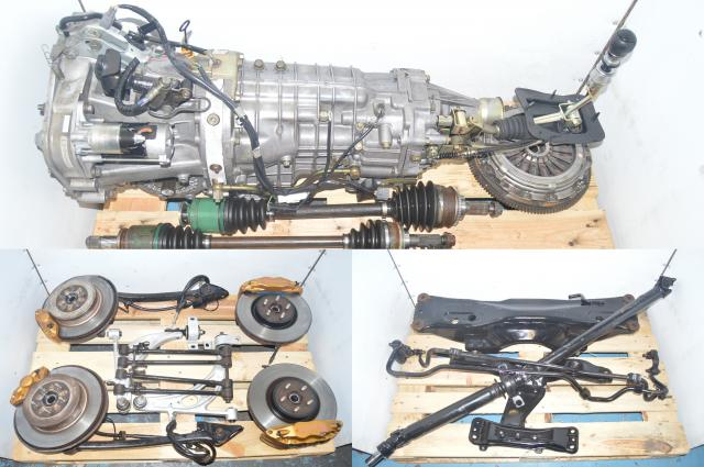 Version 7 WRX STI 6-Speed Transmission Non-DCCD Transmission & Brembo Package for 5x100 TY856WB1CA